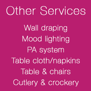 Other Services - find out more...